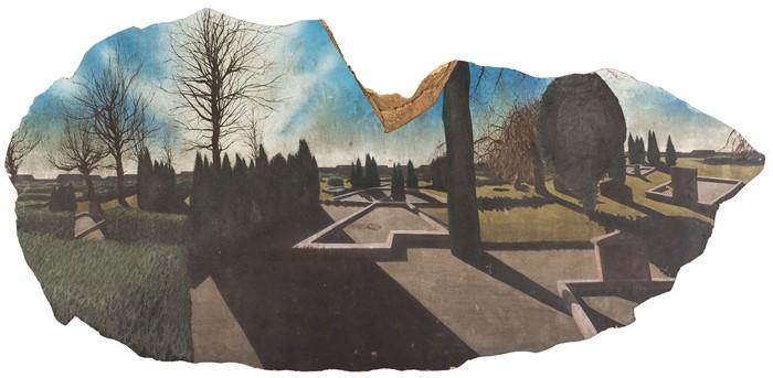 2009 Victor Rosdahl, hål i muren,, 2004